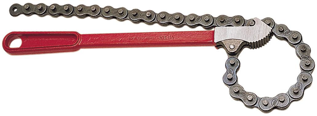 Универсальный ключ из цепи и профиля своими руками 8